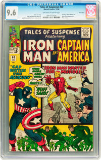 Tales of Suspense #60 Twin Cities pedigree (Marvel, 1964) CGC NM+ 9.6 Off-white to white pages