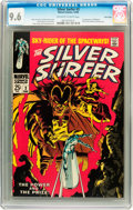 Silver Age (1956-1969):Superhero, The Silver Surfer #3 Twin Cities pedigree (Marvel, 1968) CGC NM+ 9.6 Off-white to white pages....