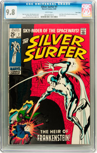 The Silver Surfer #7 Twin Cities pedigree (Marvel, 1969) CGC NM/MT 9.8 White pages