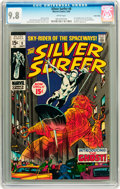 Silver Age (1956-1969):Superhero, The Silver Surfer #8 Twin Cities pedigree (Marvel, 1969) CGC NM/MT 9.8 White pages....