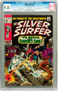 Silver Age (1956-1969):Superhero, The Silver Surfer #9 Twin Cities pedigree (Marvel, 1969) CGC NM/MT 9.8 White pages....