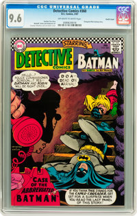 Detective Comics #360 Pacific Coast pedigree (DC, 1967) CGC NM+ 9.6 Off-white to white pages