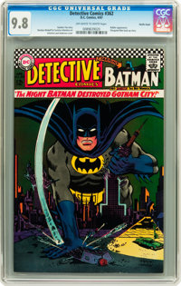 Detective Comics #362 Pacific Coast pedigree (DC, 1967) CGC NM/MT 9.8 Off-white to white pages