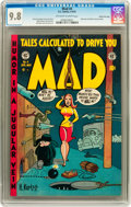 Golden Age (1938-1955):Humor, Mad #4 Gaines File pedigree 8/12 (EC, 1953) CGC NM/MT 9.8 Off-white to white pages....