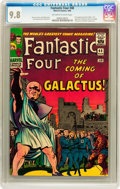 Silver Age (1956-1969):Superhero, Fantastic Four #48 (Marvel, 1966) CGC NM/MT 9.8 Off-white to whitepages....
