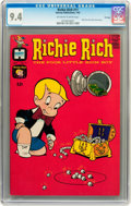 Silver Age (1956-1969):Humor, Richie Rich #11 File Copy (Harvey, 1962) CGC NM 9.4 Off-white to white pages....