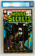Silver Age (1956-1969):Mystery, House of Secrets #81 (DC, 1969) CGC NM- 9.2 White pages....