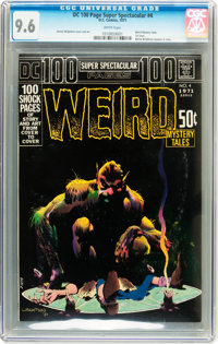 DC 100-Page Super Spectacular #4 Weird Mystery Tales (DC, 1971) CGC NM+ 9.6 White pages