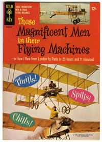 Movie Comics - Those Magnificent Men in Their Flying Machines - File Copy (Gold Key, 1965) Condition: NM-