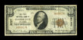 National Bank Notes:Oklahoma, Custer City, OK - $10 1929 Ty. 1 The First NB Ch. # 8727. ...