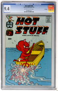 Bronze Age (1970-1979):Humor, Hot Stuff, the Little Devil #96 File Copy (Harvey, 1970) CGC NM 9.4Off-white to white pages....