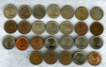 Colombia, Colombia: REPUBLICA 24-pieces One Centavo , ... (Total: 24 coins)