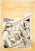 Original Comic Art:Covers, First Love Illustrated #57 Cover Original Art (Harvey,1955)....