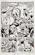 Original Comic Art:Panel Pages, John Buscema and George Klein The Avengers #58 Origin of theVision page 10 Original Art (Marvel, 1968)....