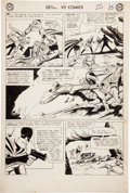 "Original Comic Art:Panel Pages, Carmine Infantino and Joe Giella Detective Comic #327 First""New Look"" Batman page 15 Original Art (DC,1964)...."