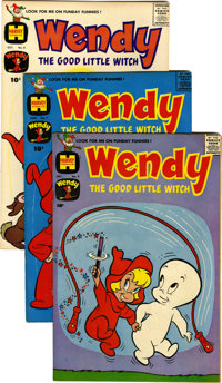 Wendy, the Good Little Witch File Copies Box Lot (Harvey, 1960-69) Condition: Average VF/NM