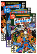 Modern Age (1980-Present):Superhero, Justice League of America Group (DC, 1982-87) Condition: AverageNM.... (Total: 64 Comic Books)