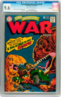 Star Spangled War Stories #136 Savannah pedigree (DC, 1968) CGC NM+ 9.6 Off-white to white pages