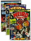 Bronze Age (1970-1979):Horror, Weird Wonder Tales Group (Marvel, 1973-77) Condition: AverageVF.... (Total: 22 Comic Books)