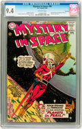 Silver Age (1956-1969):Science Fiction, Mystery in Space #90 Savannah pedigree (DC, 1964) CGC NM 9.4Off-white pages....