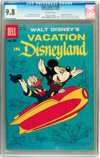 Four Color #1025 Vacation in Disneyland (Dell, 1959) CGC NM/MT 9.8 Off-white pages