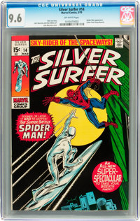 The Silver Surfer #14 (Marvel, 1970) CGC NM+ 9.6 Off-white pages