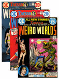 Bronze Age (1970-1979):Miscellaneous, Weird Worlds Group (DC, 1972-74) Condition: Average VF.... (Total:10 Comic Books)