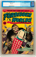 Golden Age (1938-1955):Horror, Forbidden Worlds #6 Aurora pedigree (ACG, 1952) CGC NM- 9.2Off-white pages....