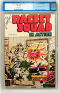 Golden Age (1938-1955):Adventure, Racket Squad in Action #12 (Charlton, 1954) CGC VF+ 8.5 Off-white pages....