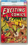 Golden Age (1938-1955):Adventure, Exciting Comics #2 (Nedor Publications, 1940) CGC FN/VF 7.0 Off-white pages....