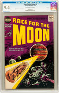 Silver Age (1956-1969):Science Fiction, Race For the Moon #2 File Copy (Harvey, 1958) CGC NM 9.4 Cream tooff-white pages....