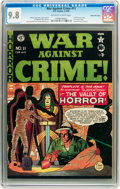 Golden Age (1938-1955):Crime, War Against Crime #11 Gaines File pedigree 8/11 (EC, 1950) CGC NM/MT 9.8 Off-white to white pages....