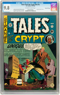 Golden Age (1938-1955):Horror, Tales From the Crypt #20 Gaines File pedigree 3/11 (EC, 1950) CGCNM/MT 9.8 Off-white to white pages....