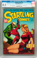 Golden Age (1938-1955):Science Fiction, Startling Comics #46 (Better Publications, 1947) CGC VF+ 8.5 Creamto off-white pages....