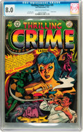 Golden Age (1938-1955):Crime, Thrilling Crime Cases #49 (Star Publications, 1952) CGC VF 8.0 Cream to off-white pages....