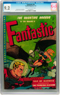 Golden Age (1938-1955):Horror, Fantastic #8 (Youthful Magazines, 1952) CGC NM- 9.2 Cream tooff-white pages....