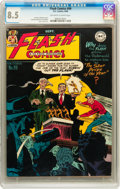 Golden Age (1938-1955):Superhero, Flash Comics #99 (DC, 1948) CGC VF+ 8.5 Off-white to white pages....