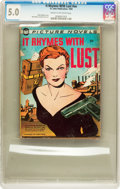 Golden Age (1938-1955):Romance, It Rhymes With Lust #nn (St. John, 1950) CGC VG/FN 5.0 Cream tooff-white pages....