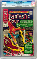 Silver Age (1956-1969):Superhero, Fantastic Four Annual #4 (Marvel, 1966) CGC NM+ 9.6 Off-white pages....
