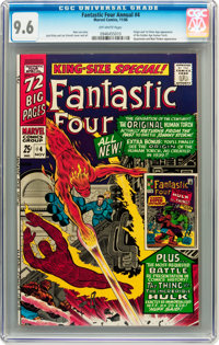Fantastic Four Annual #4 (Marvel, 1966) CGC NM+ 9.6 Off-white pages