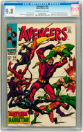 Silver Age (1956-1969):Superhero, The Avengers #55 (Marvel, 1968) CGC NM/MT 9.8 Off-white to white pages....