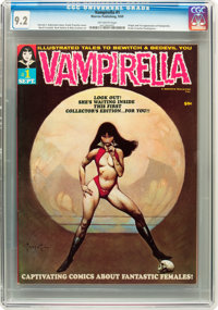 Vampirella #1 (Warren, 1969) CGC NM- 9.2 Off-white pages