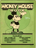 Platinum Age (1897-1937):Miscellaneous, Mickey Mouse Book Later printing (Bibo & Lang, 1931) Condition: Apparent VG/FN....