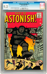 Tales to Astonish #3 (Marvel, 1959) CGC NM- 9.2 Cream to off-white pages