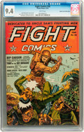 Golden Age (1938-1955):War, Fight Comics #26 Mile High pedigree (Fiction House, 1943) CGC NM 9.4 White pages....