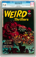 Golden Age (1938-1955):Horror, Weird Thrillers #2 Mile High pedigree (Ziff-Davis, 1951) CGC FN/VF7.0 Off-white ages....