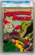 Golden Age (1938-1955):Science Fiction, Forbidden Worlds #3 Mile High pedigree (ACG, 1951) CGC VF 8.0 Whitepages....