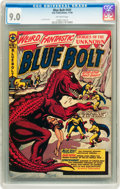 Golden Age (1938-1955):Science Fiction, Blue Bolt #107 (Star Publications, 1950) CGC VF/NM 9.0 Off-whitepages....