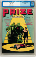 Golden Age (1938-1955):Adventure, Prize Comics #58 Big Apple pedigree (Prize, 1946) CGC NM+ 9.6 Off-white to white pages....