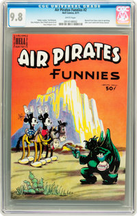 Air Pirates Funnies #2 (Hell Comics Group, 1971) CGC NM/MT 9.8 White pages